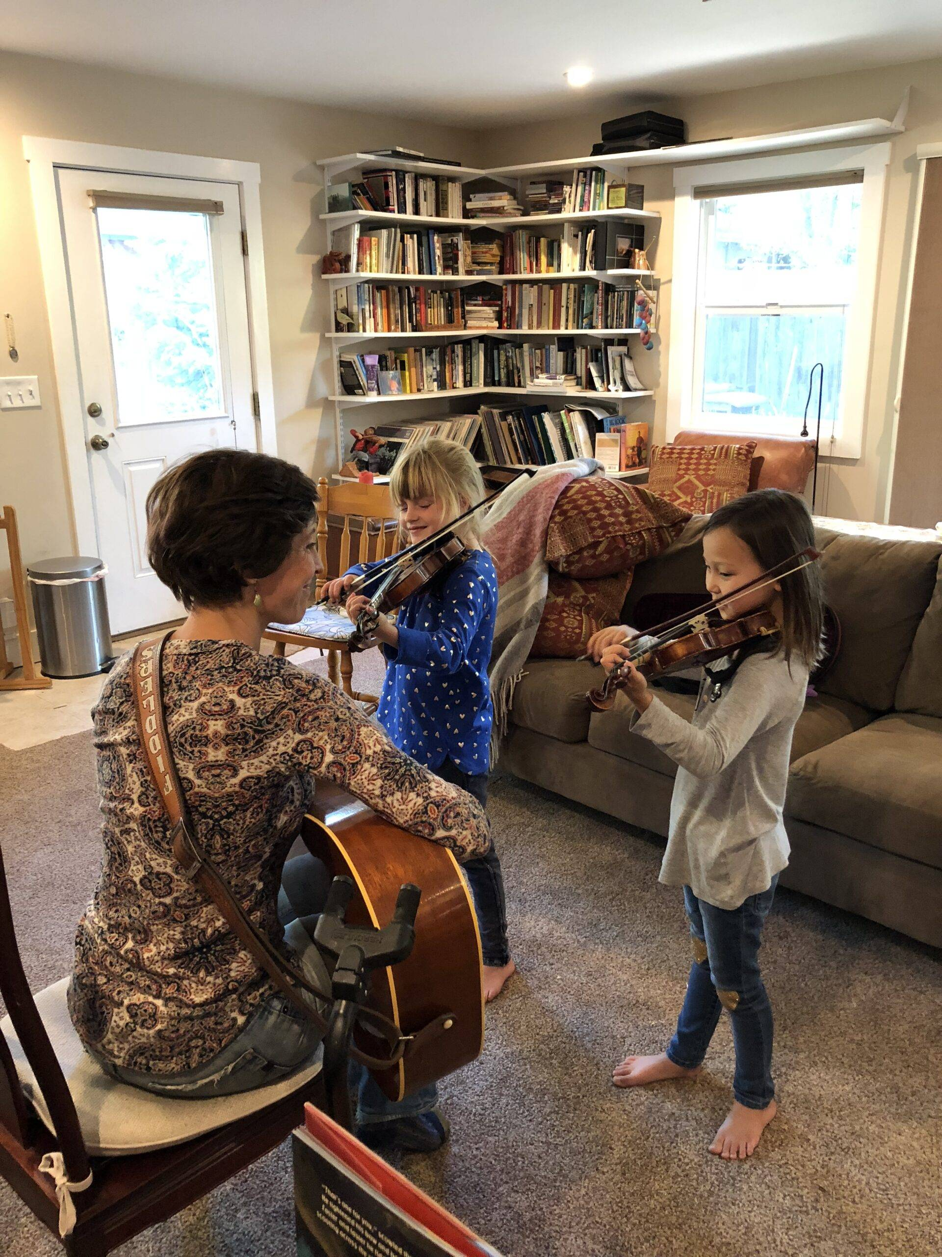 Back to School (kind of…): How Music Helps Your Kids Learn at Home