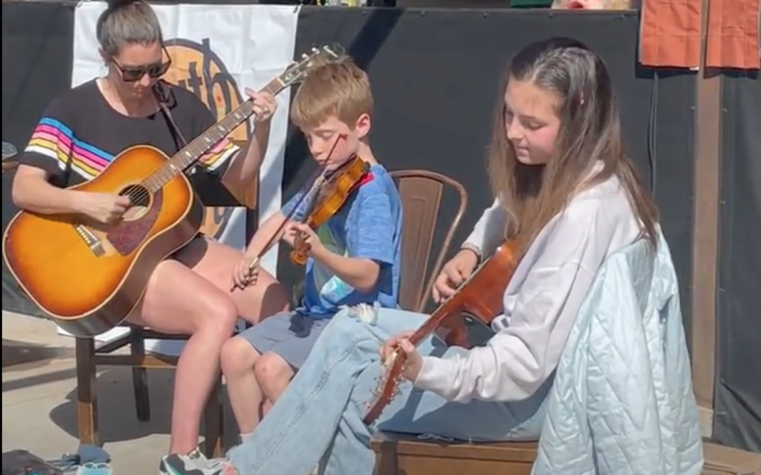 Raising the next generation of fiddlers: Sydney Green on musical parenting