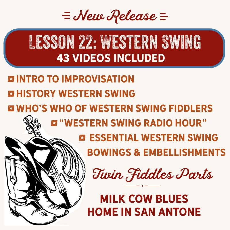 Lesson 22 - Western Swing, 43 Videos Included